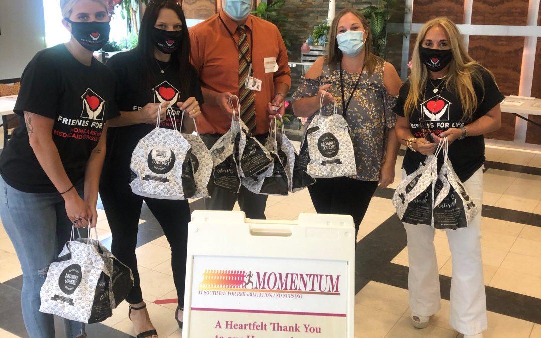 Donating to Momentum Rehab